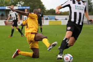 Sutton United: Doswell feeling the frustration of the FA Trophy