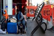 Homeless Somali family's bench removal 'in their interests'