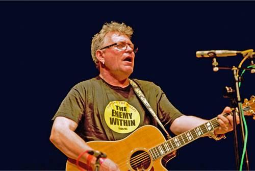Robb Johnson: Wrote Tony Benn's favourite song