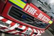 Workshop fire closes part of A3