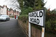 Harold Road could be made into a conservation area