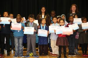 Kumon children rewarded for maths and English excellence
