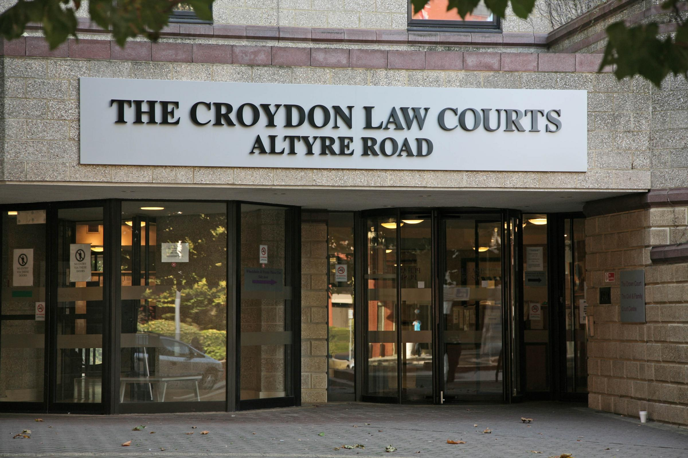 The three teenagers had been on trial at Croydon Crown Court