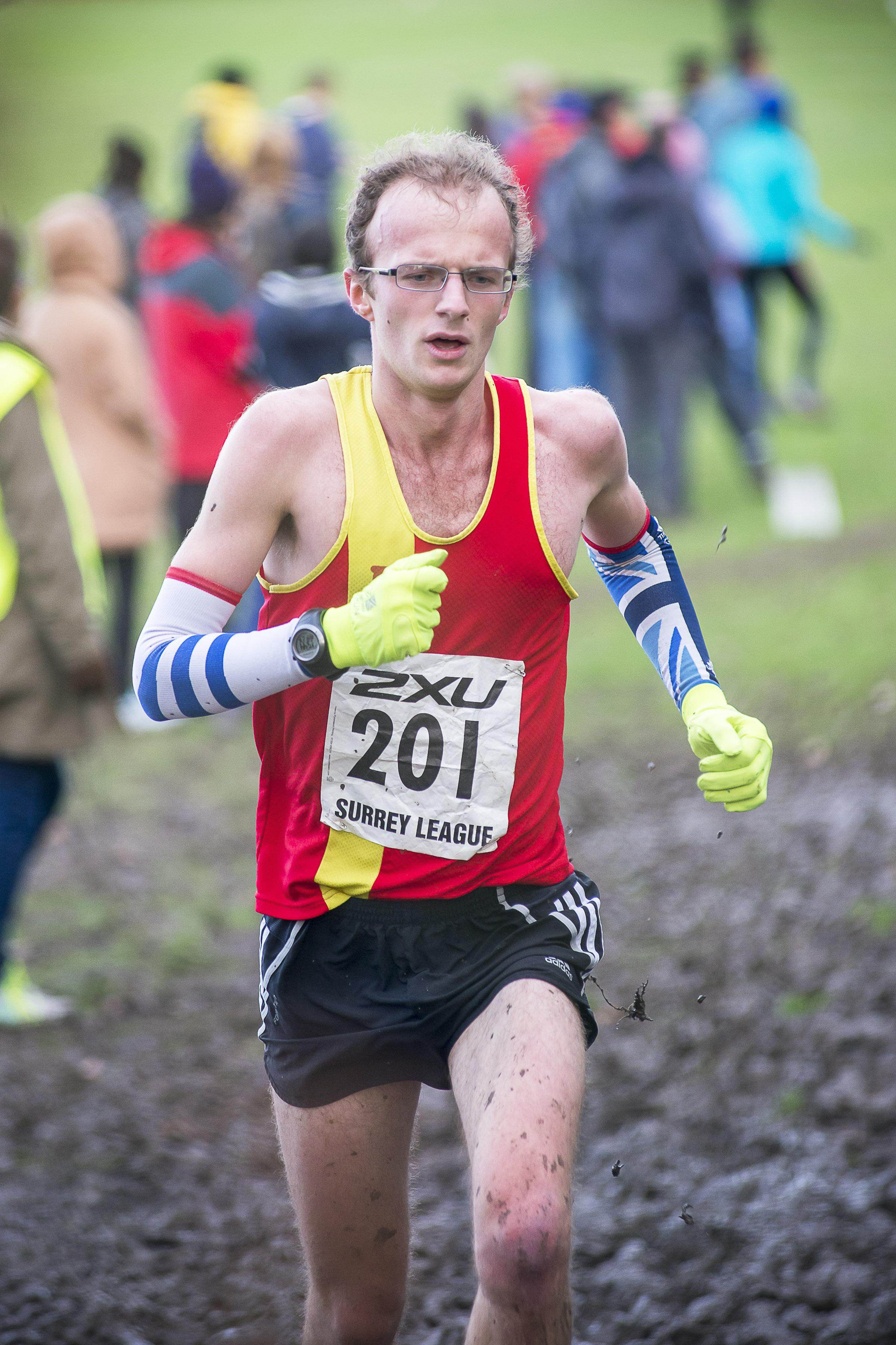 Keep on running: Ollie Garrod of Epsom & Ewell Harriers