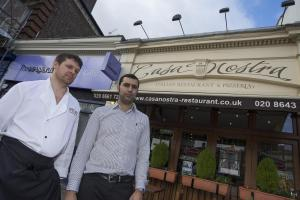 Bus stop wars as owners vow to fight new shelter planned for outside their Sutton town centre restaurant
