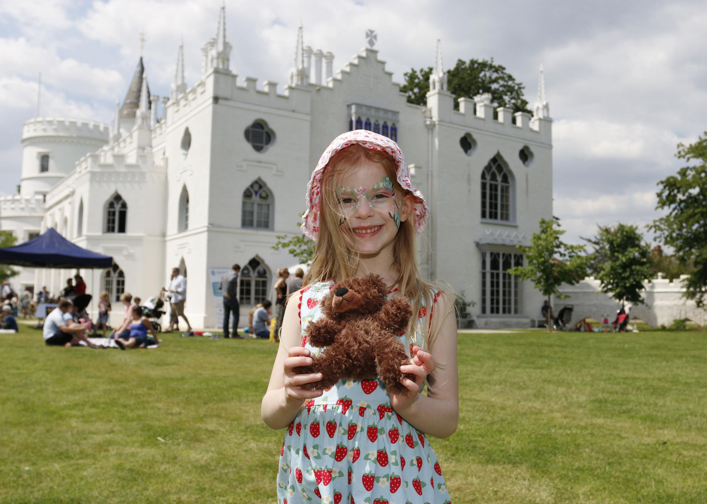 All smiles: Strawberry Hill House hosts Easter action