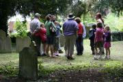 Walkers to explore hidden intrigues around a village and cemetery