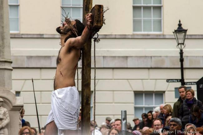 The Passion: Jesus on the cross