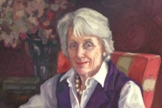 Inspiration: Colleen Quill painted Mary Baker