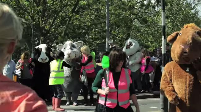 VIDEO: Is the Seething Sardine festival London's most bizarre community fun day?