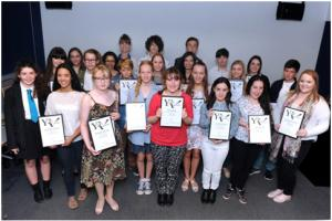 Winners of our Young Reporter scheme for 2015 celebrated at awards