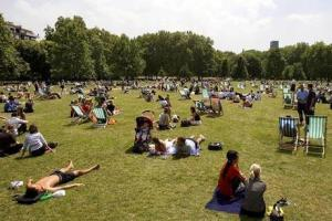 Britons set to enjoy highest temperature since last September