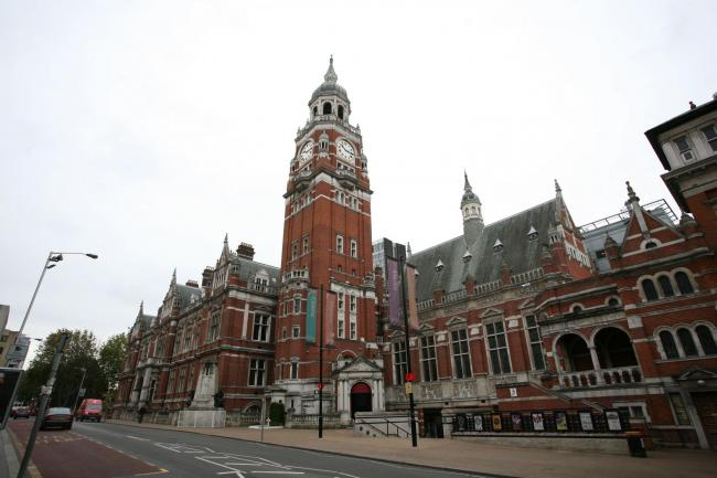 Croydon Library, in the Clocktower, has the most staff of the borough's libraries