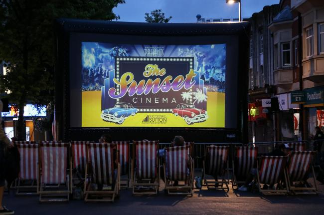 Free outdoor film screenings return to Sutton including Frozen sing-a-long