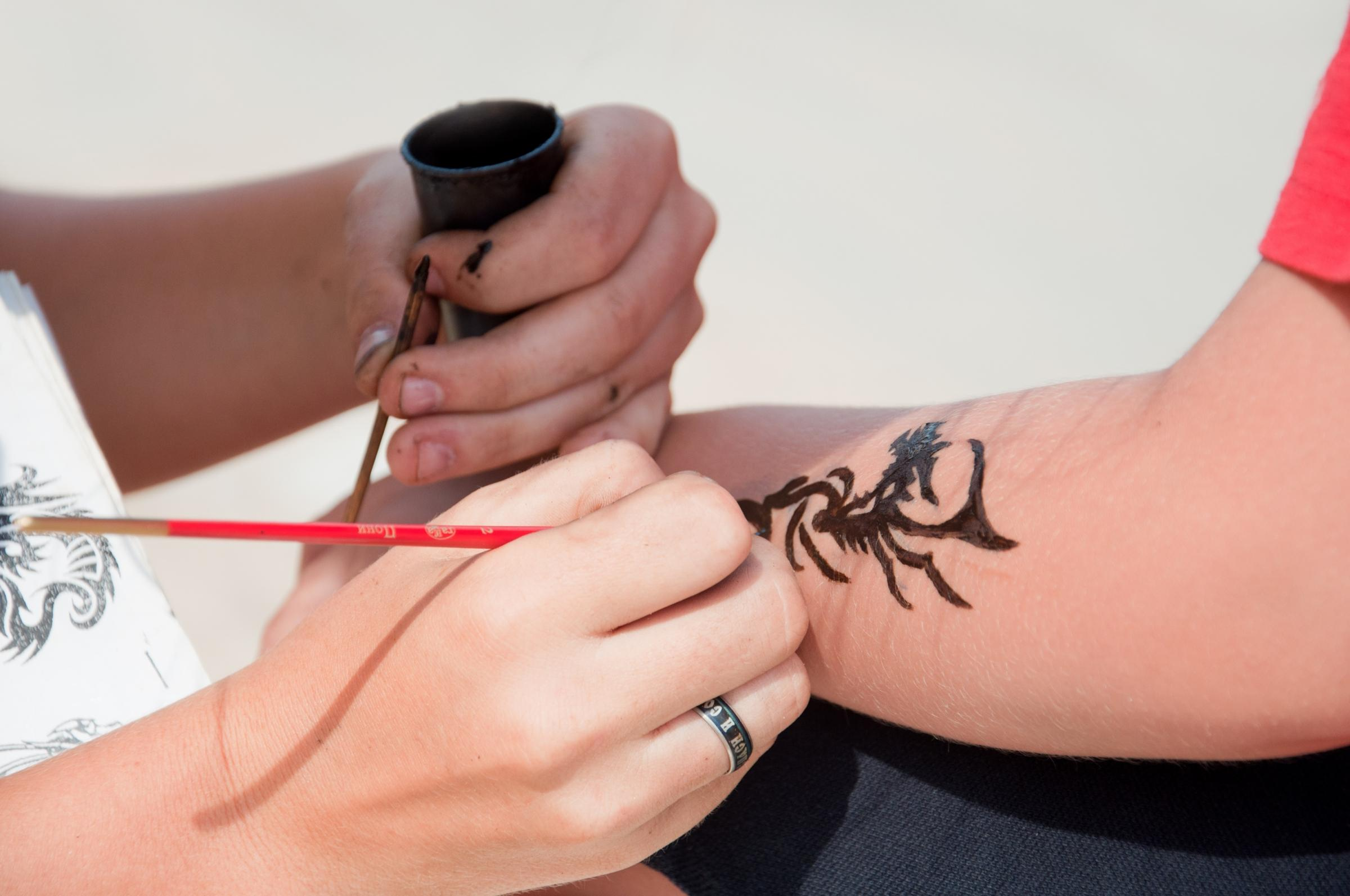 Henna tattoos could leave the user with a horrific allergic reaction