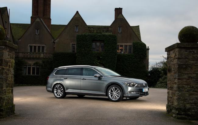 The new Volkswagen Passat Estate