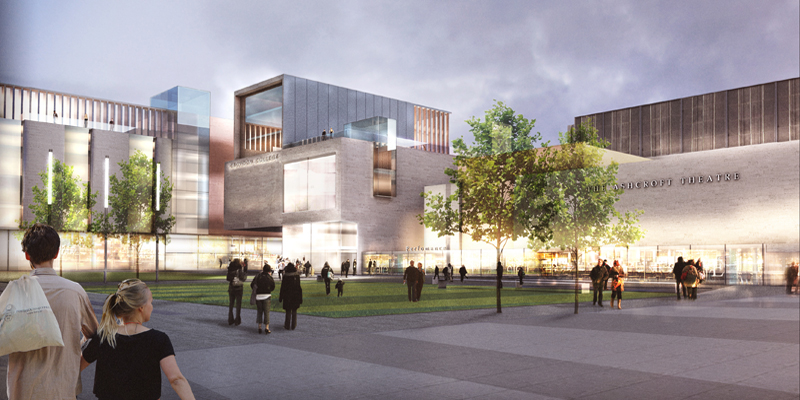 What the transformed Fairfield Halls and college will look like