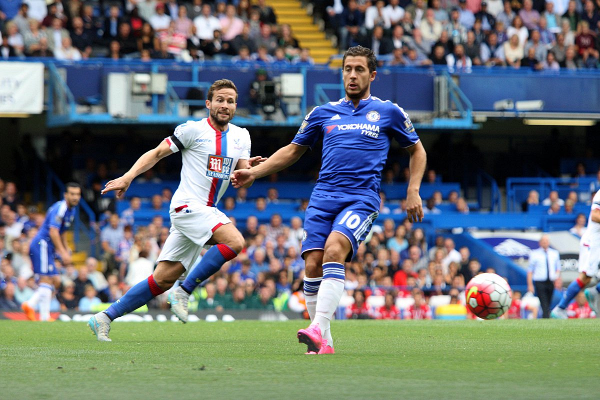On the comeback trail? Chelsea's Eden Hazard has shown signs of improvement recently