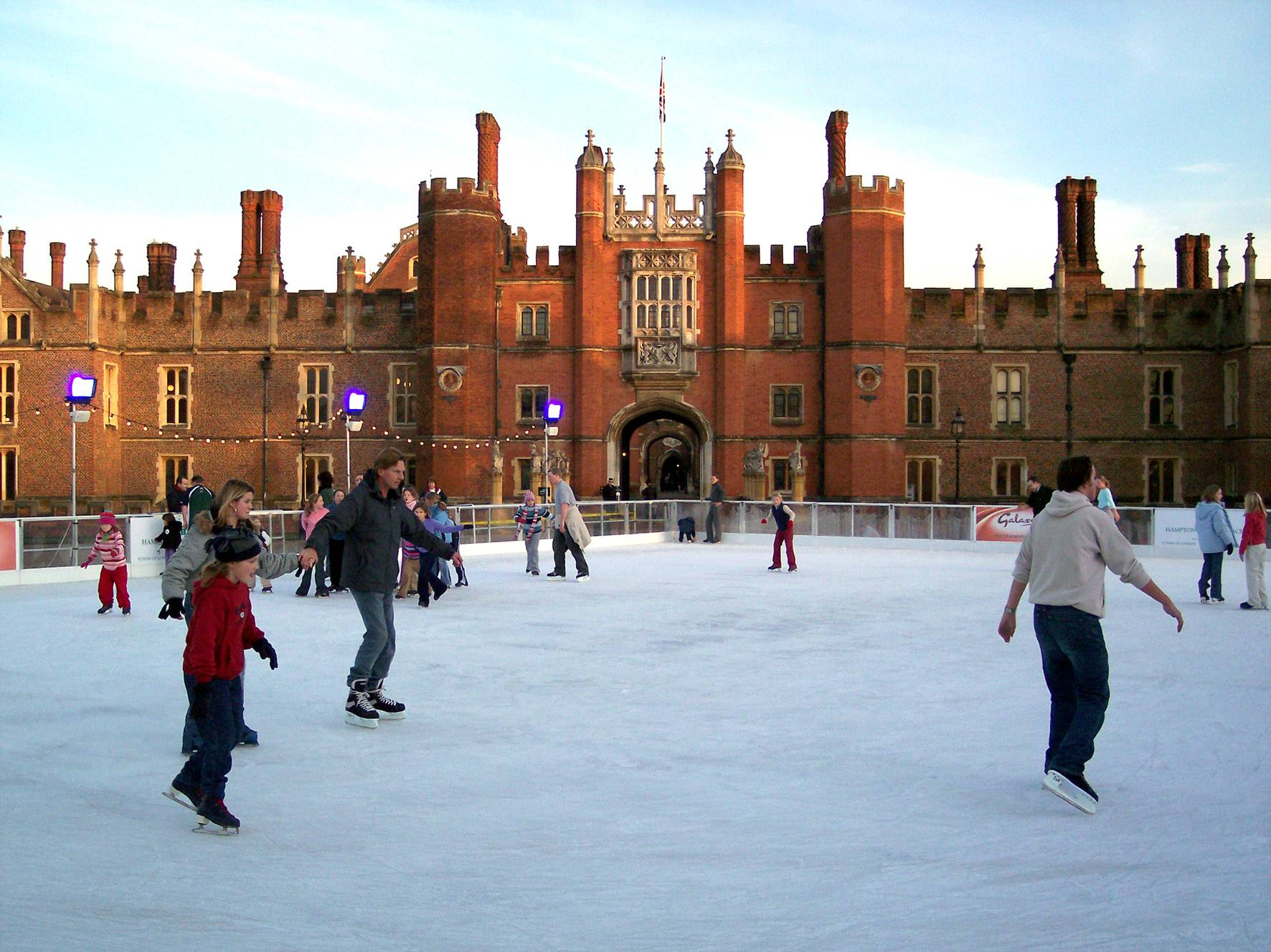 Hampton Court Palace's ice rink will prove popular this Christmas