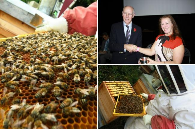 Buzzing: Croydon beekeepers edge out rivals and taste sweet victory at National Honey Show