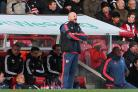 Staying on: Lee Carsley will help with the hand over to Brentford's new coach when he is named