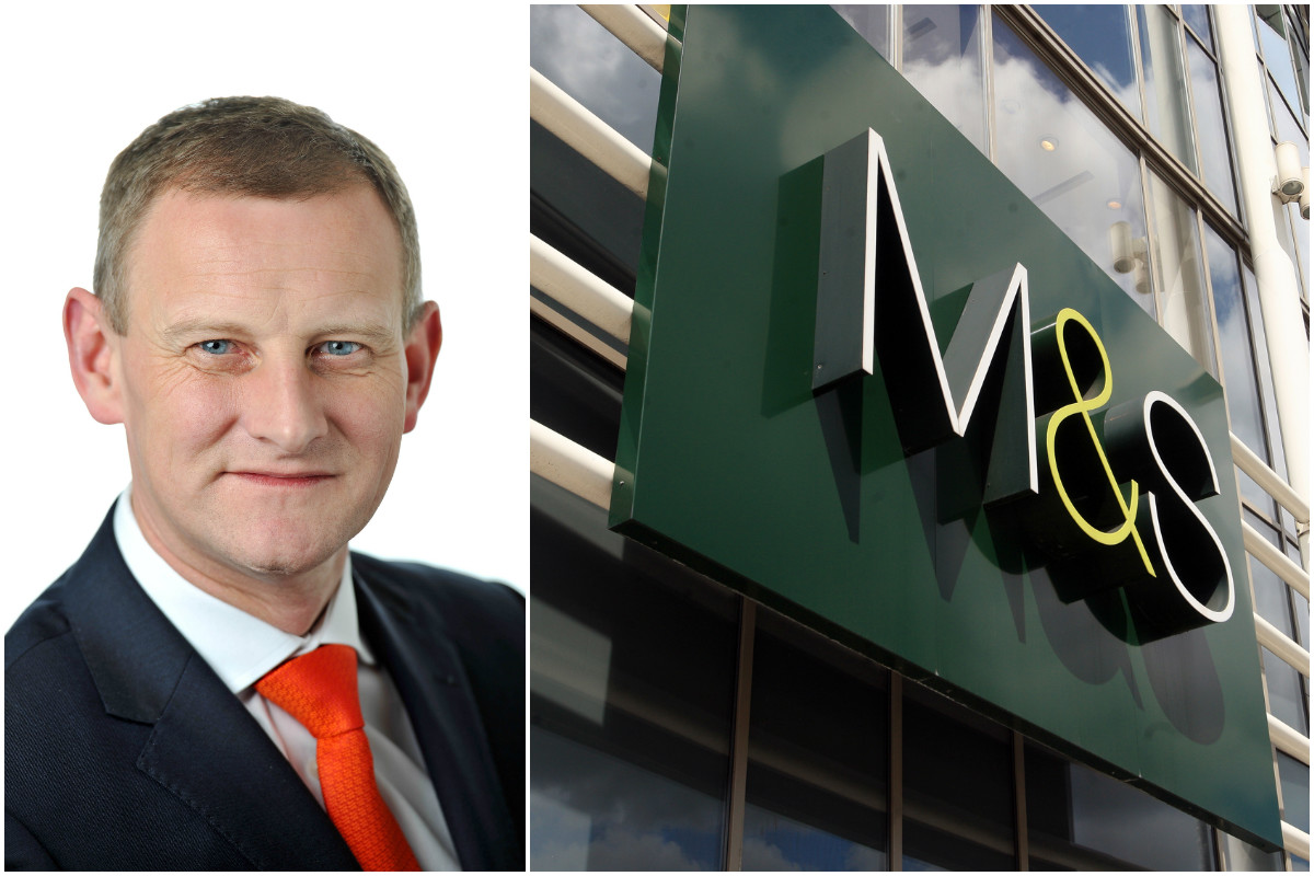 Croydon businessman Steve Rowe has been appointed chief executive of Marks and Spencer