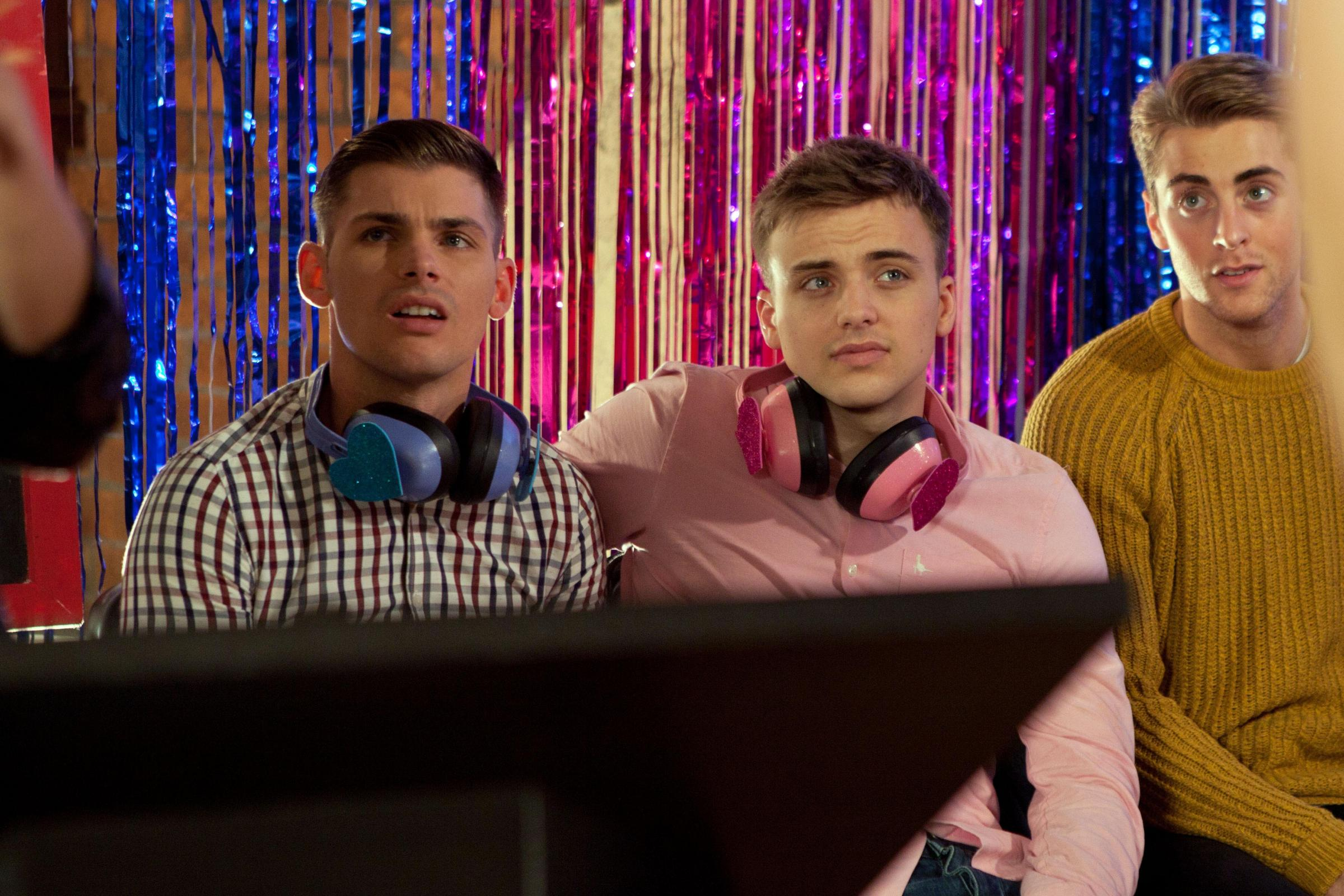 Parry glasspool dating games