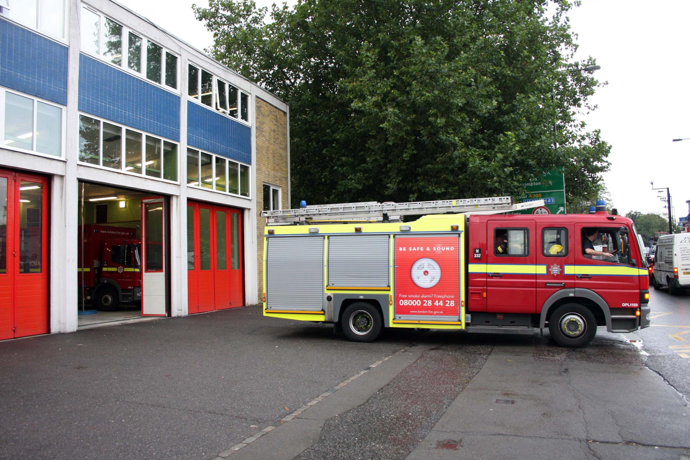 Wandsworth fire station could face permanent reduction to one engine as response times rise
