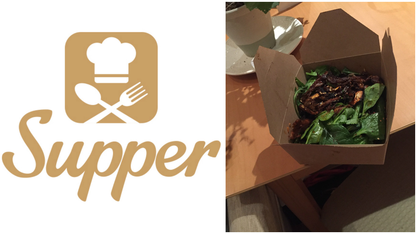Supper app allows for speedy delivery of home-cooked meals