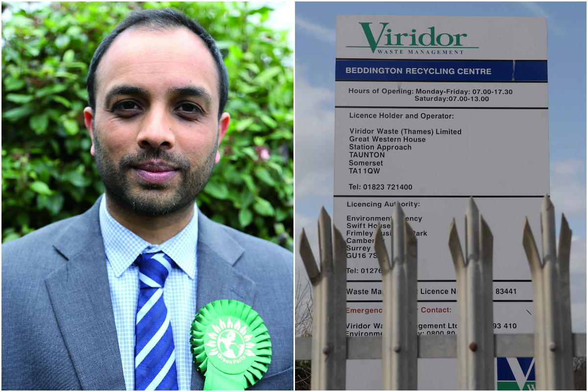 Green Party candidate Shasha Khan wants Sutton Council to conduct independent air quality monitoring in Beddington