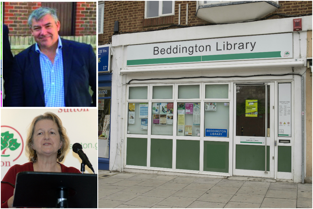 Beddington library will be closed and the mobile service scrapped in April