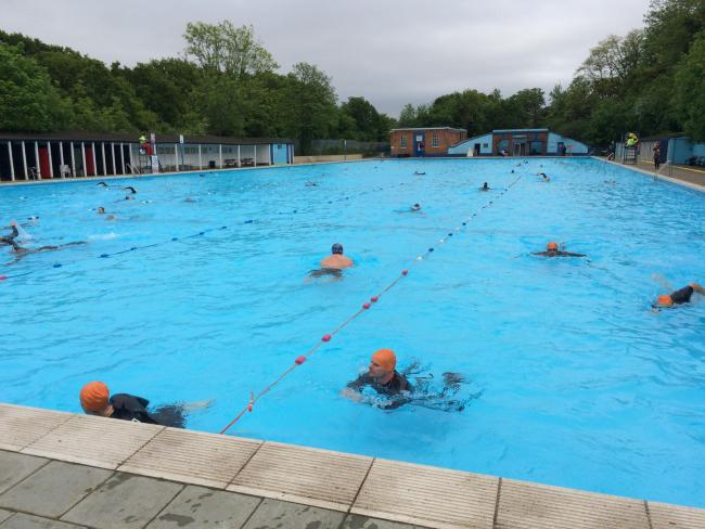 Former City trader launches Aquathlon in Tooting
