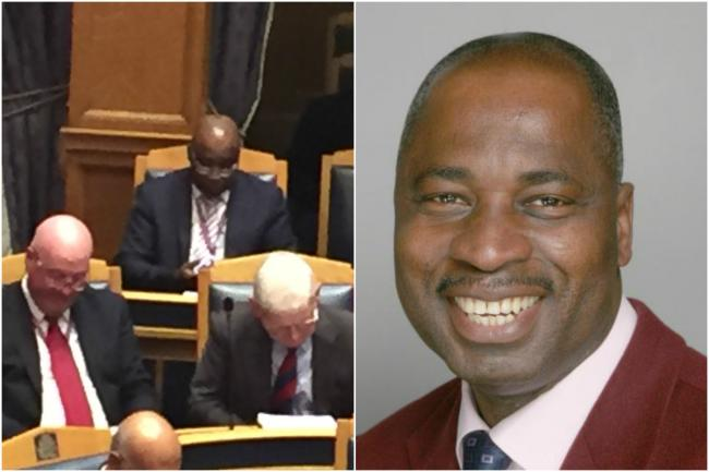Disgraced Croydon councillor who 'fleeced' mentally ill wife appears in public for the first time since damning judgement