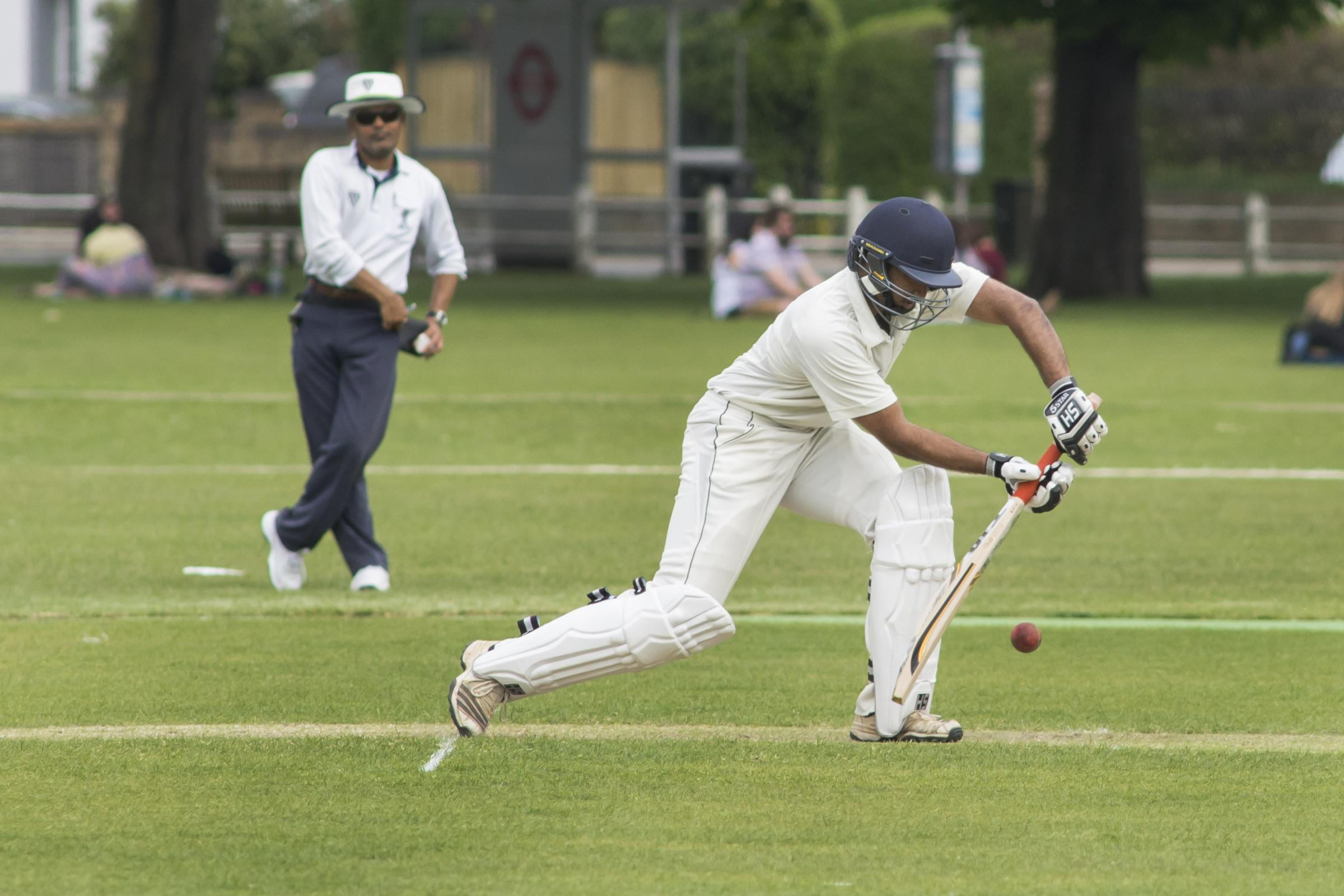 Run machine: Twickenham batsman Don Manuwelge's unbeaten 131 last week has taken his season's league run haul to 555 - including three centuries