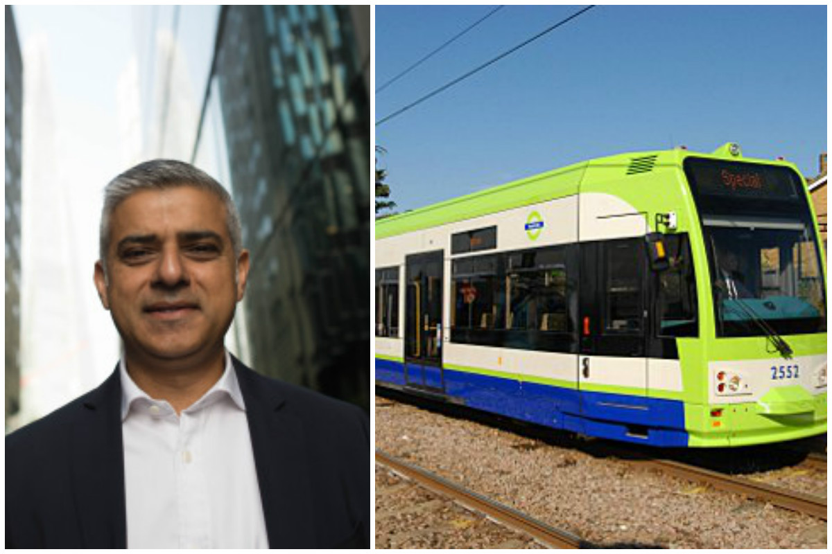 Sadiq Khan: Tram extension is a 'priority - but don't hold your breath'