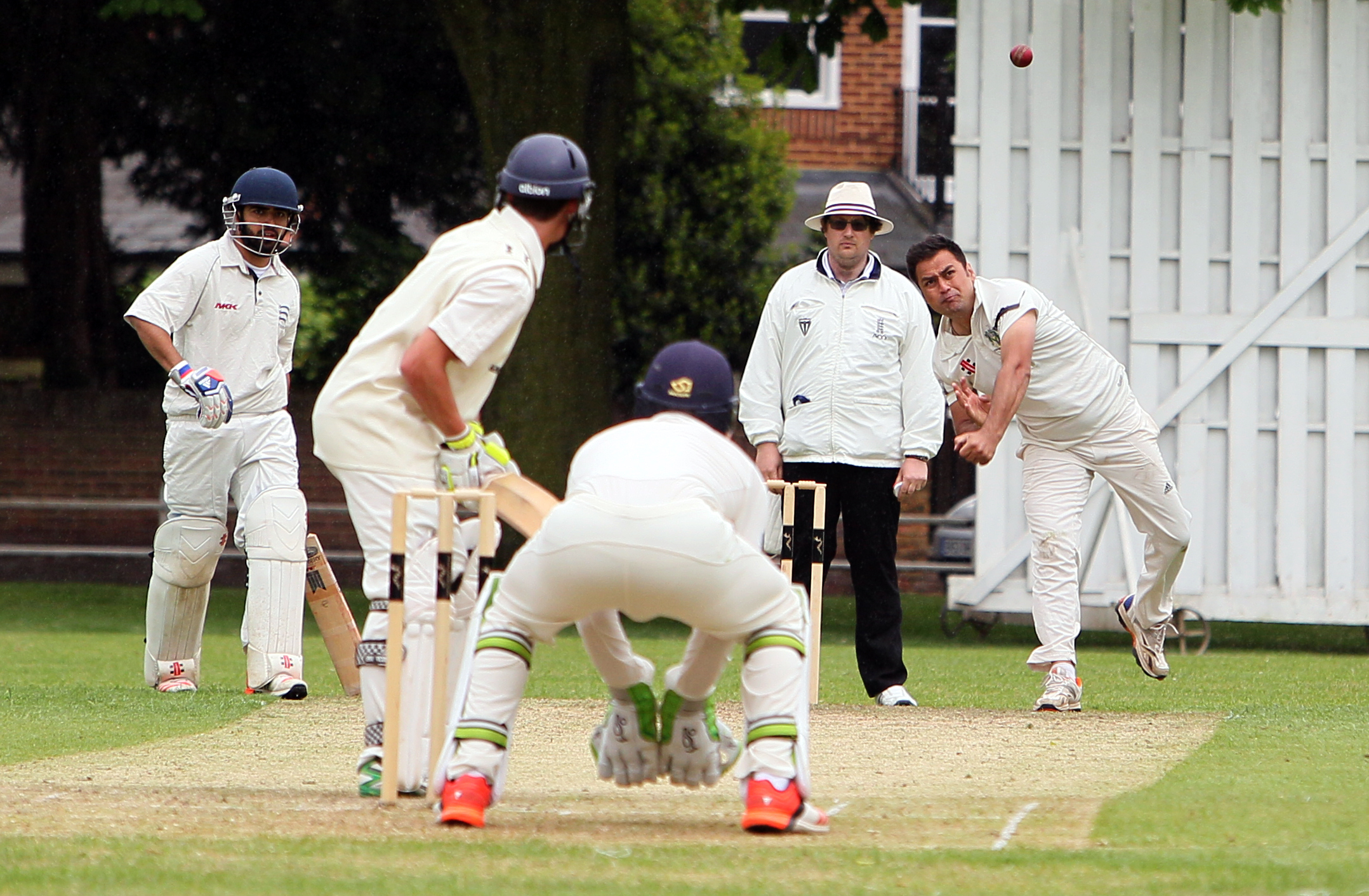 Ineffective: Parminder Singh has only taken three wickets in three Middlesex County League Premier Division matches this season as Twickenham have struggled
