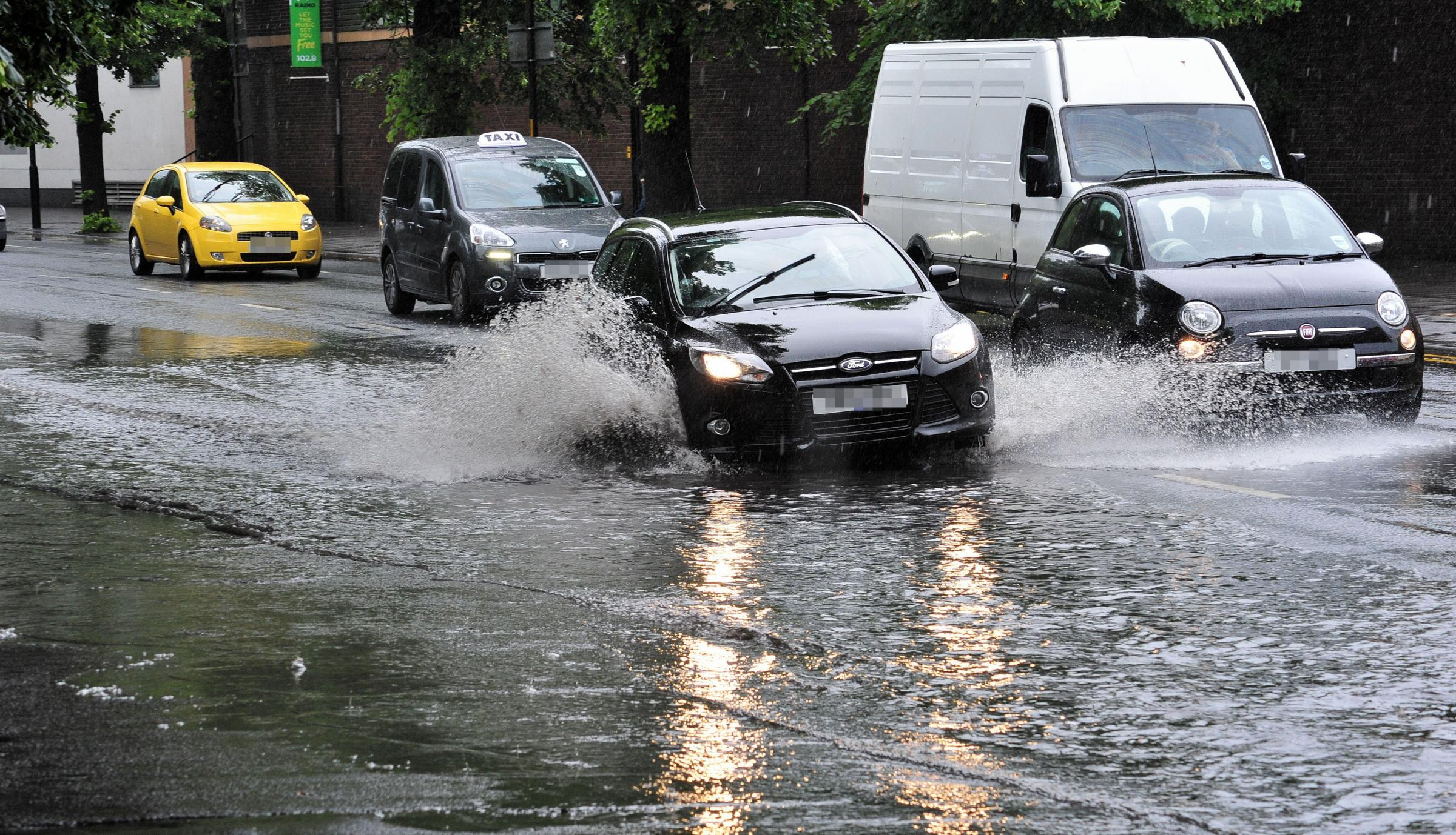 WEATHER WARNING: Torrential downpours and possible localised flooding expected