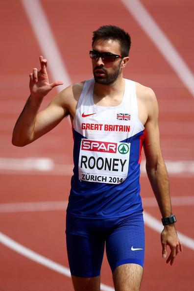 Fingers crossed: Has Martyn Rooney done enough to be selected for Team GB