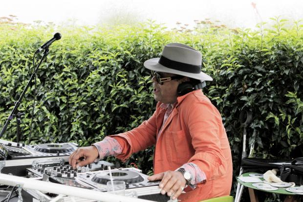 Craig Charles launches the OnBlackheath festival 2016 at the John Lewis roof garden