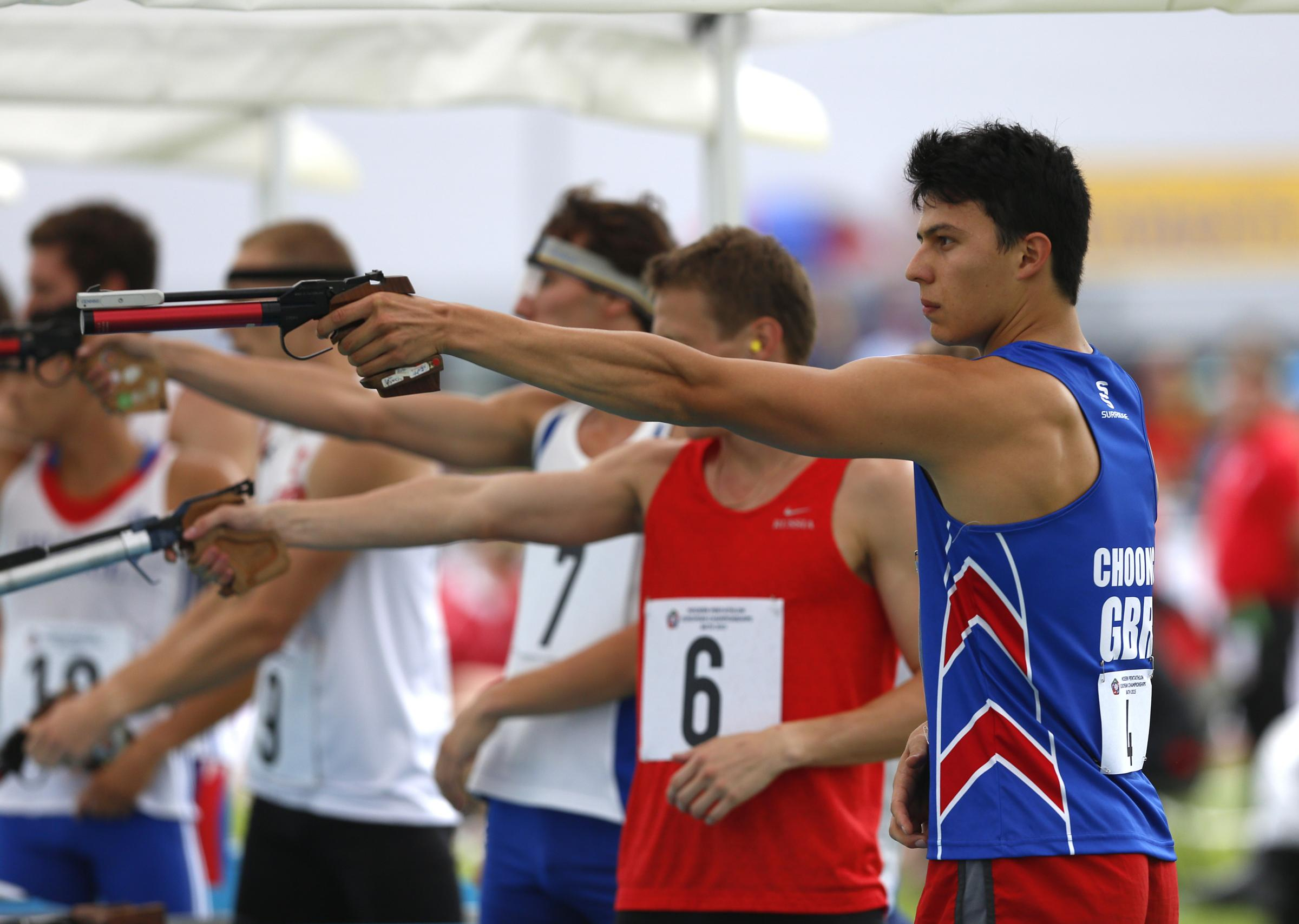 Joe Choong | Picture: Pentathlon GB