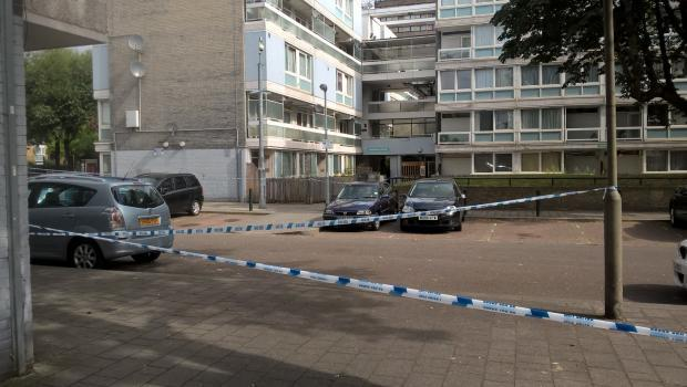 Two other men- aged 35 and 33- were also stabbed on the estate.