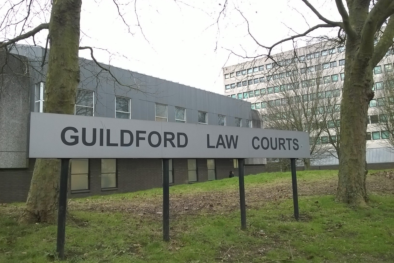 Thomas Gander appeared at Guildford Magistrates' Court this week