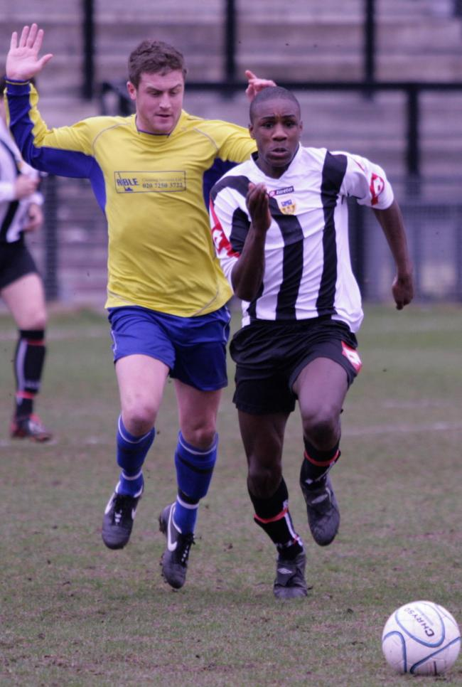 Michail Antonio in Tooting colours in 2008