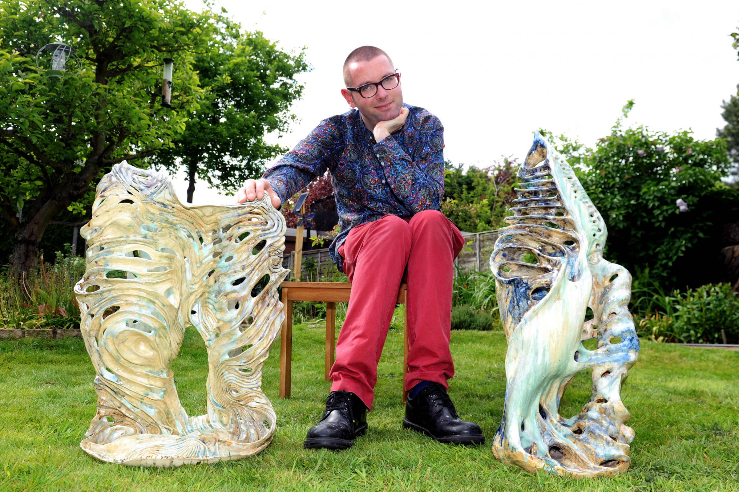 Sculptor Ben Nicolson is co-ordinating the Merton Arts Festival