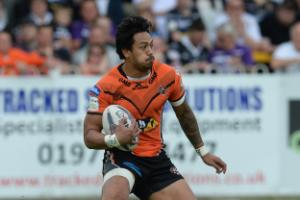Denny Solomona enjoys a record-breaking afternoon as Castleford see off Widnes