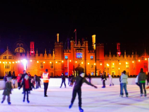 Your Local Guardian: Hampton Court Palace Ice Rink