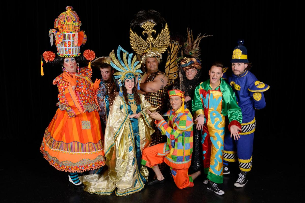 The curtain came down on the annual panto held at the Epsom Playhouse on Sunday.