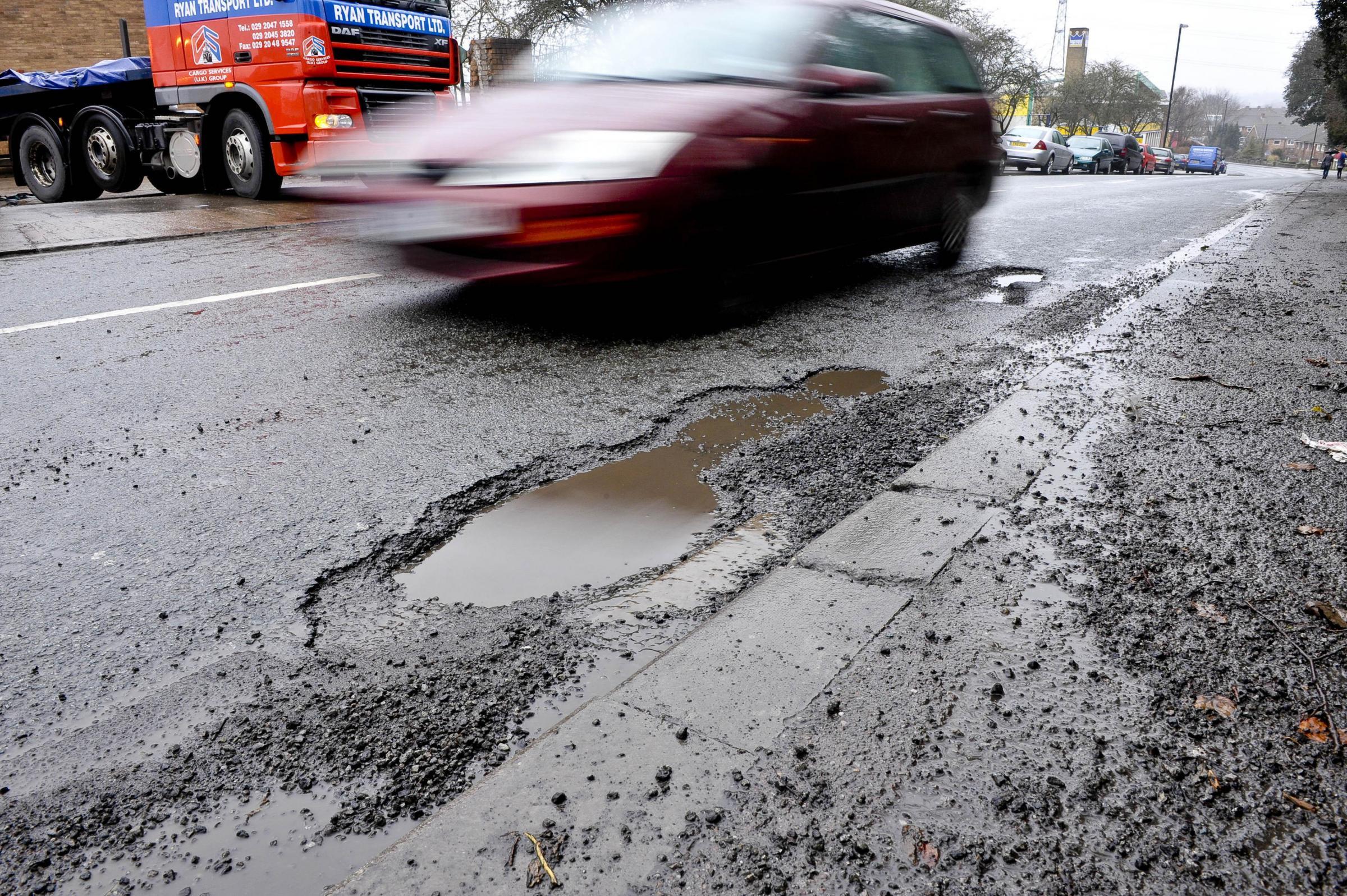 Croydon is London's worst borough for pothole complaints - Croydon