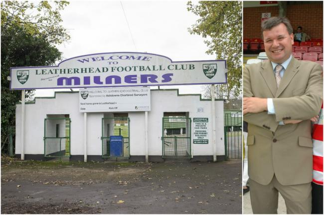 Ks new home in Leatherhead and chairman Mark Anderson