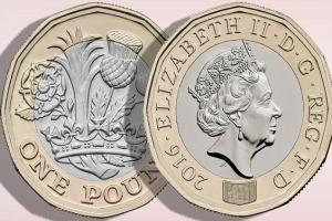 The new pound coin is out now